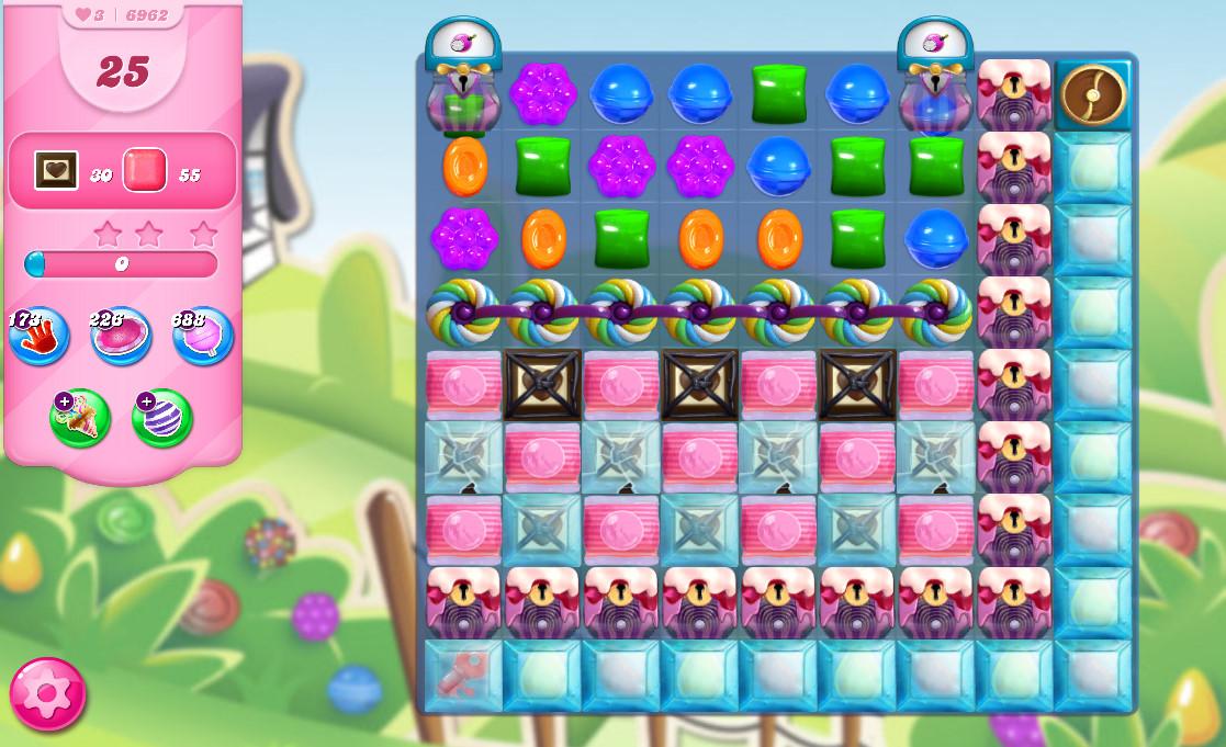 Candy Crush Saga level 6962
