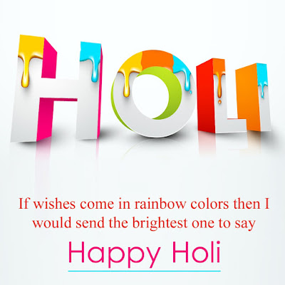 Happy Holi Wallpapers, Sms, Quotes for Facebook Status