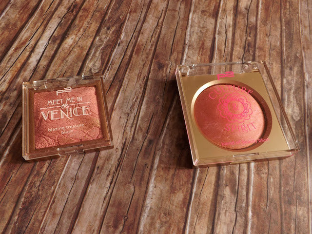 1 - p2 Meet me in Venice blazing treasure blush in 010 Destiny, 2 - p2 Culture & Spirit blend of beauty blush in 010 soulfulness