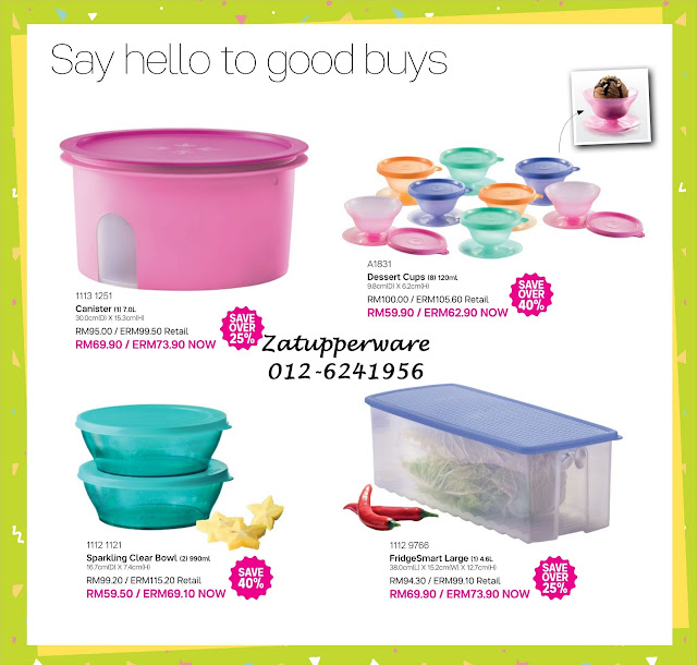 Tupperware Mini Catalogue 1st September - 30th September 2017