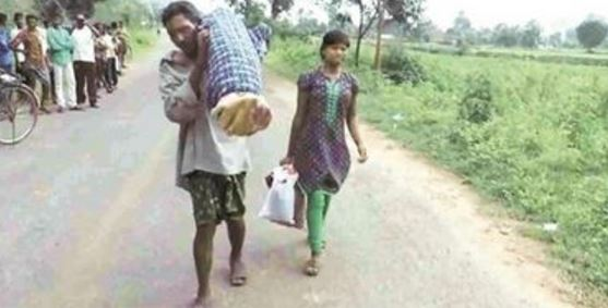 Husband Carried His Wife's Corpse for 60km Because He Could Not Afford a Funeral Car! Read the Touching Story Here!