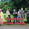 Polsek Mapsu Lakukan Pengamanan Di Lokasi Kunjungan Gubernur Terpilih Kaltara