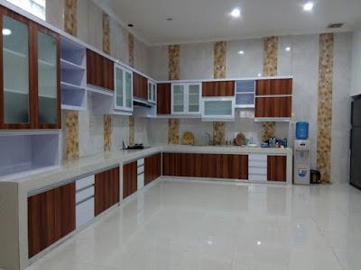 Kitchen Set Minimalist Taman Sari Jakarta Barat