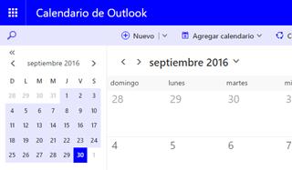 nuevo calendario outlook correo 2016