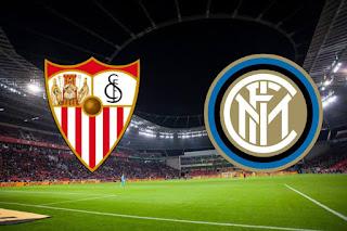 مباراة إنتر ميلان الإيطالي وإشبيلة الإسباني الآن نهائي الدوري الأوربي