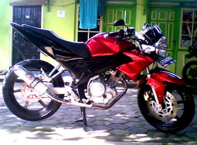 Modifikasi Motor Vixion 2010