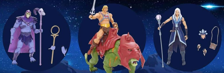 Masterverse: The Evolution of He-Man toys