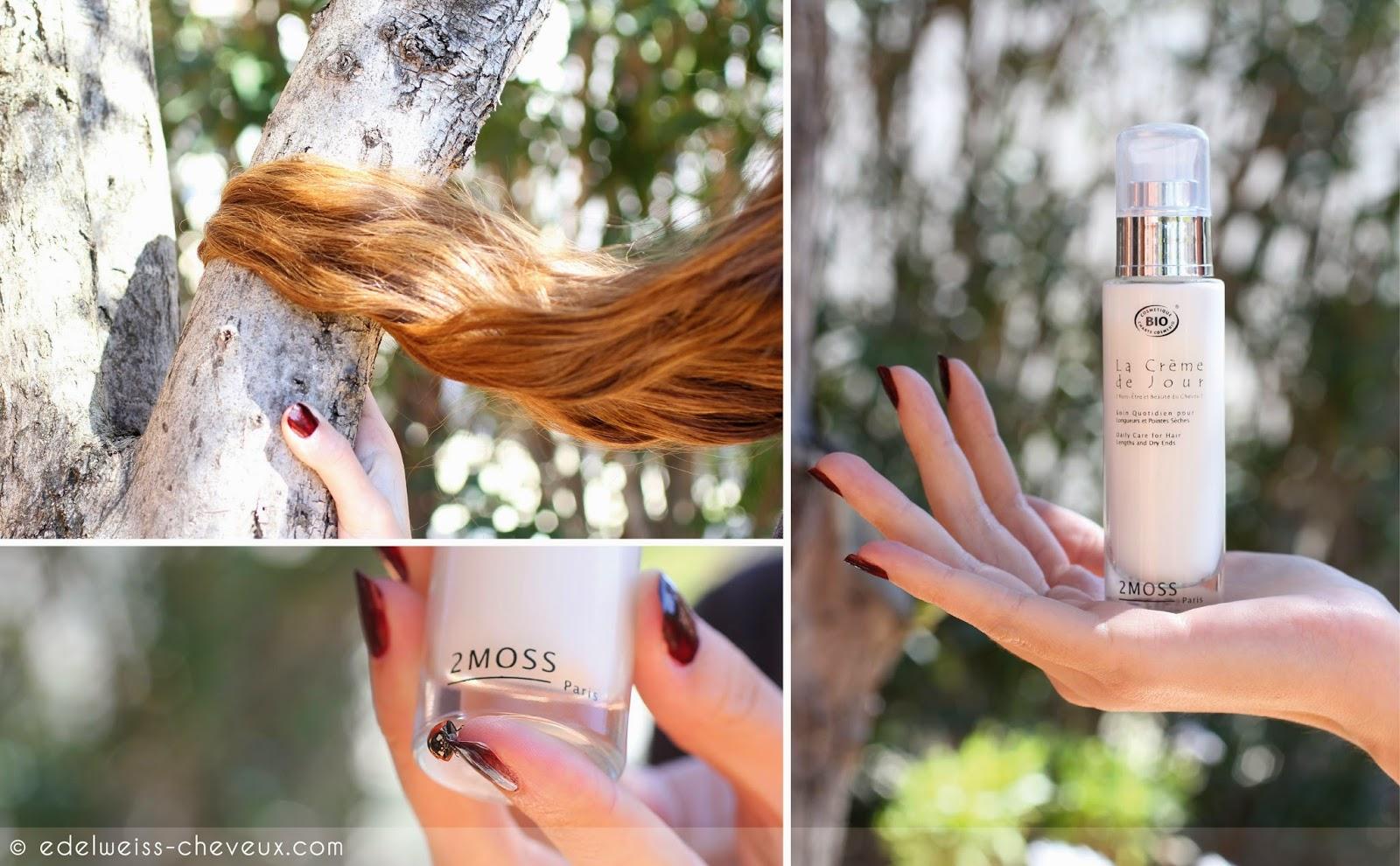 crème de jour cheveux soin quotidien naturel bio 2moss paris
