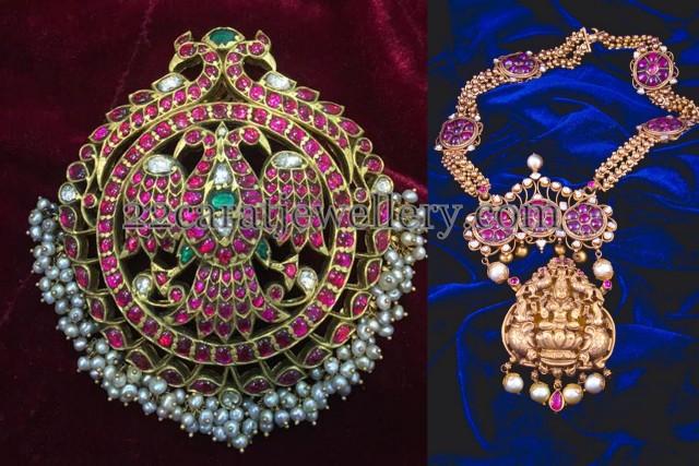 Temple Jewelry with Pota Rubies