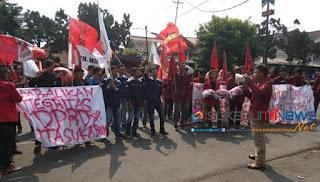 Demo Liga Persatuan Mahasiswa Sukabumi