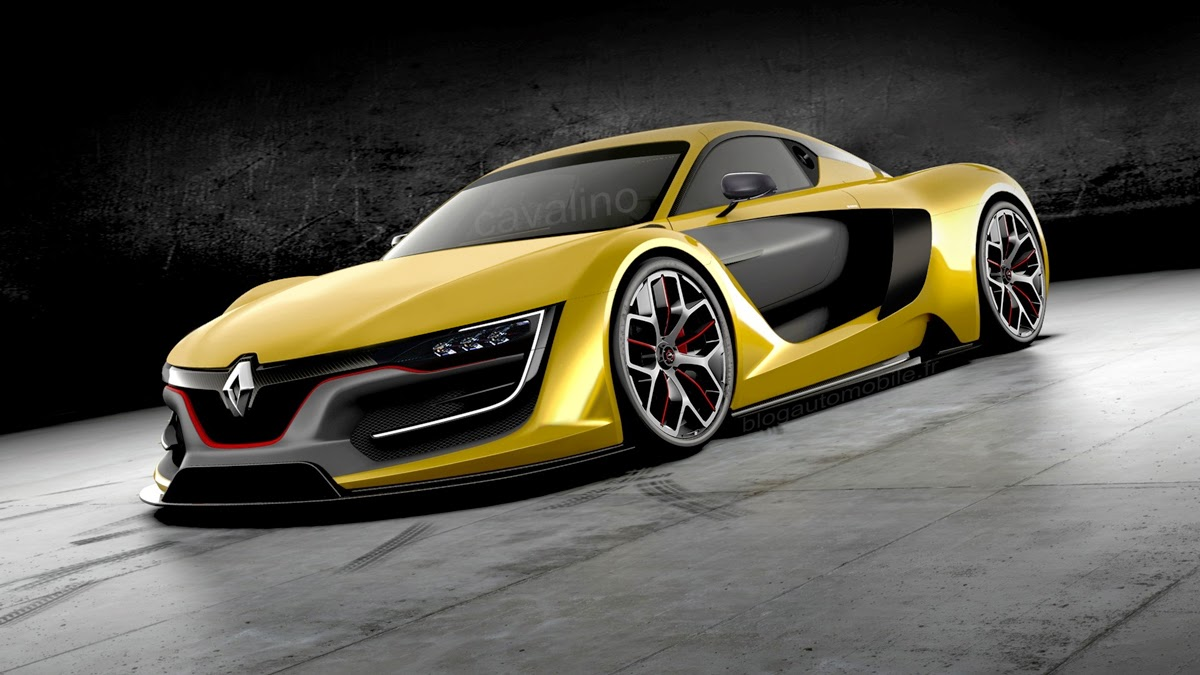 renault RS 01 road version