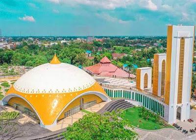 masjid deli serdang