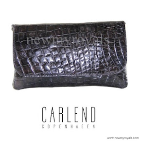 Crown Princess Mary carried Carlend Copenhagen Vanessa clutch bag