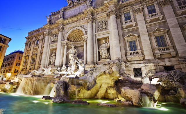 Feriados em Roma - Fontana di Trevi