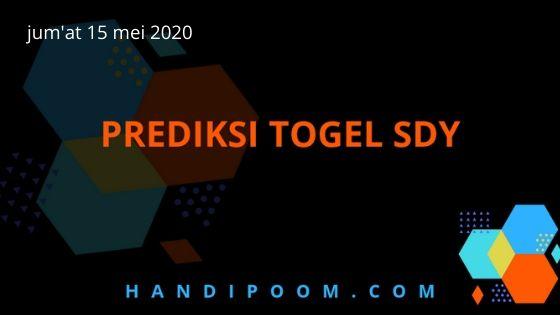 Prediksi Togel Sydney Hari ini jum'at 15 Mei 2020