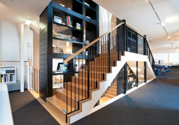 Simple stylish staircase designs