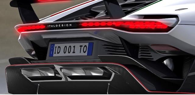 世界限定5台の新型スーパーカーが「イタルデザイン・アウトモビリ・スペチアーリ」から登場!