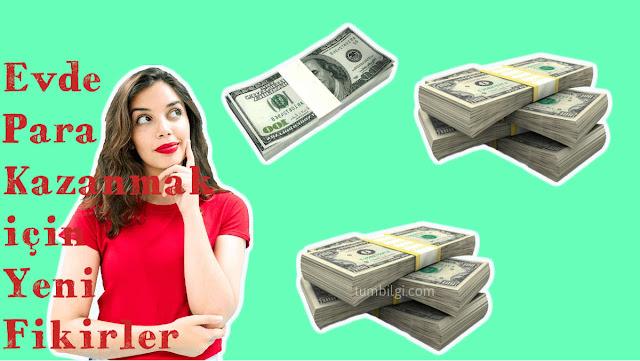 Evde Para Kazanmak İçin Yeni Fikirler