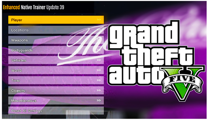 Download GTA V Cheat Menu Mod Trainer Updated