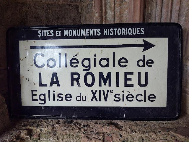 Anuncio Colegiata La Romieu Francia Via Podiensis Camino de Santiago