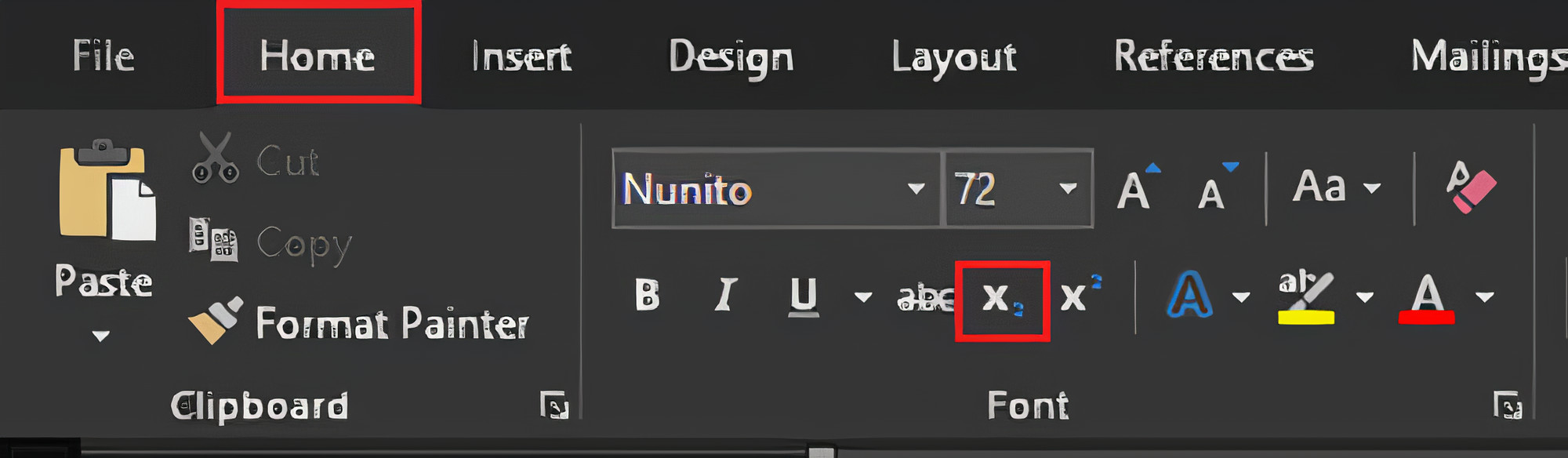 Cara membuat pangkat atas (supescript) dan pangkat bawah (subscript) di Microsoft Word dengan mudah.