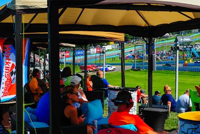 Turn 1 Cabanas - #NASCAR Watkins Glen