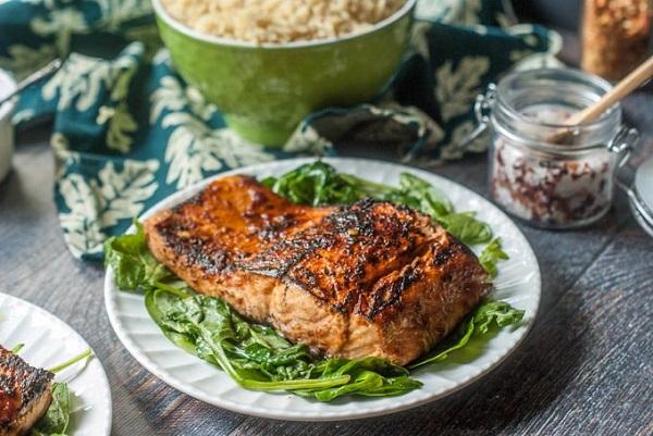 Chili Soy Salmon
