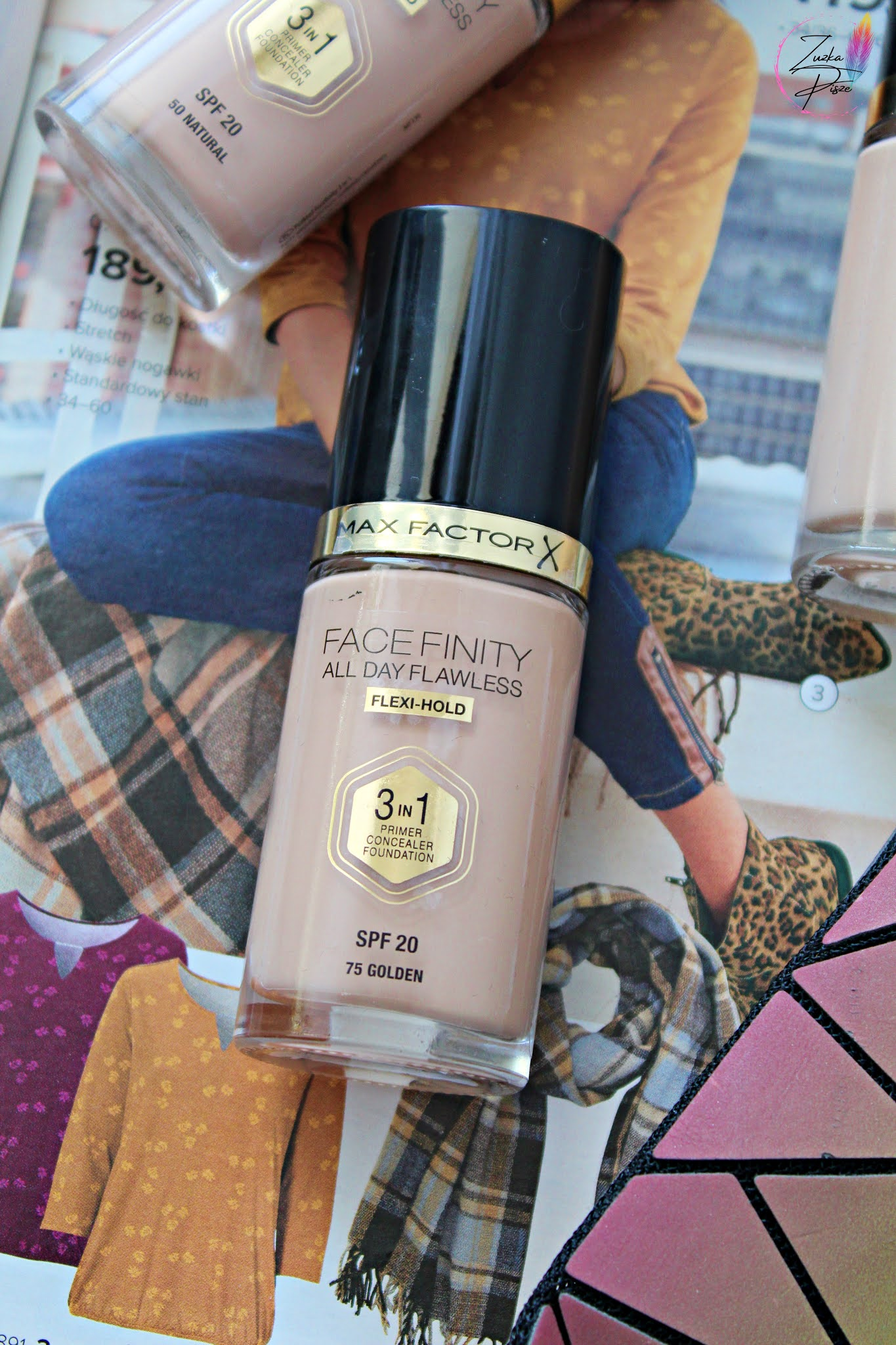 MAX FACTOR - Podkład FaceFinity All day Flawless Flexi-Hold