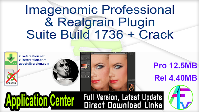 Imagenomic Professional & Realgrain Plugin Suite Build 1736 + Crack