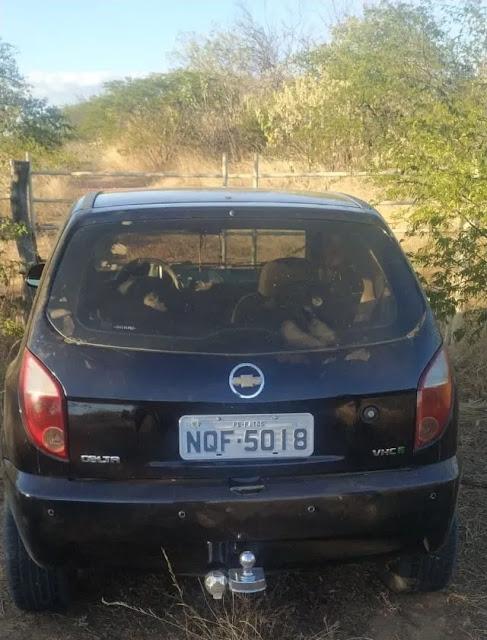 Carro tomado de assalto em São José de Espinharas é recuperado em Caicó