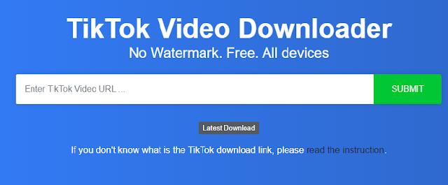 Tik Tok Downloader Without Watermark Ver.2