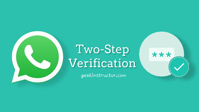 WhatsApp's two-step verification