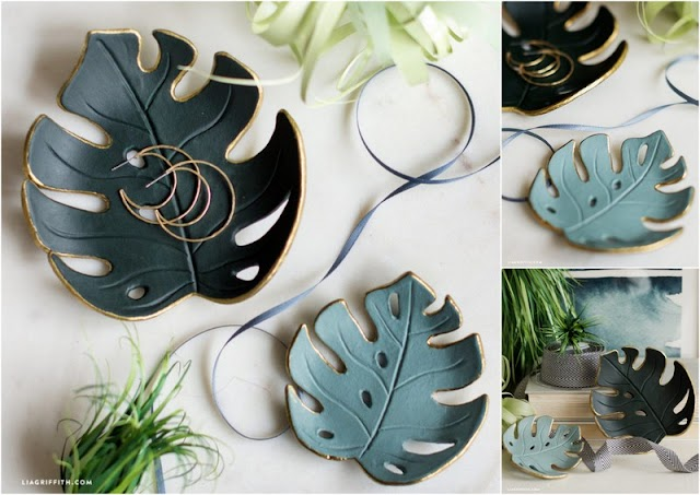 DIY  Διακοσμητικά Μπωλ - Πιάτα με έτοιμο Πηλό