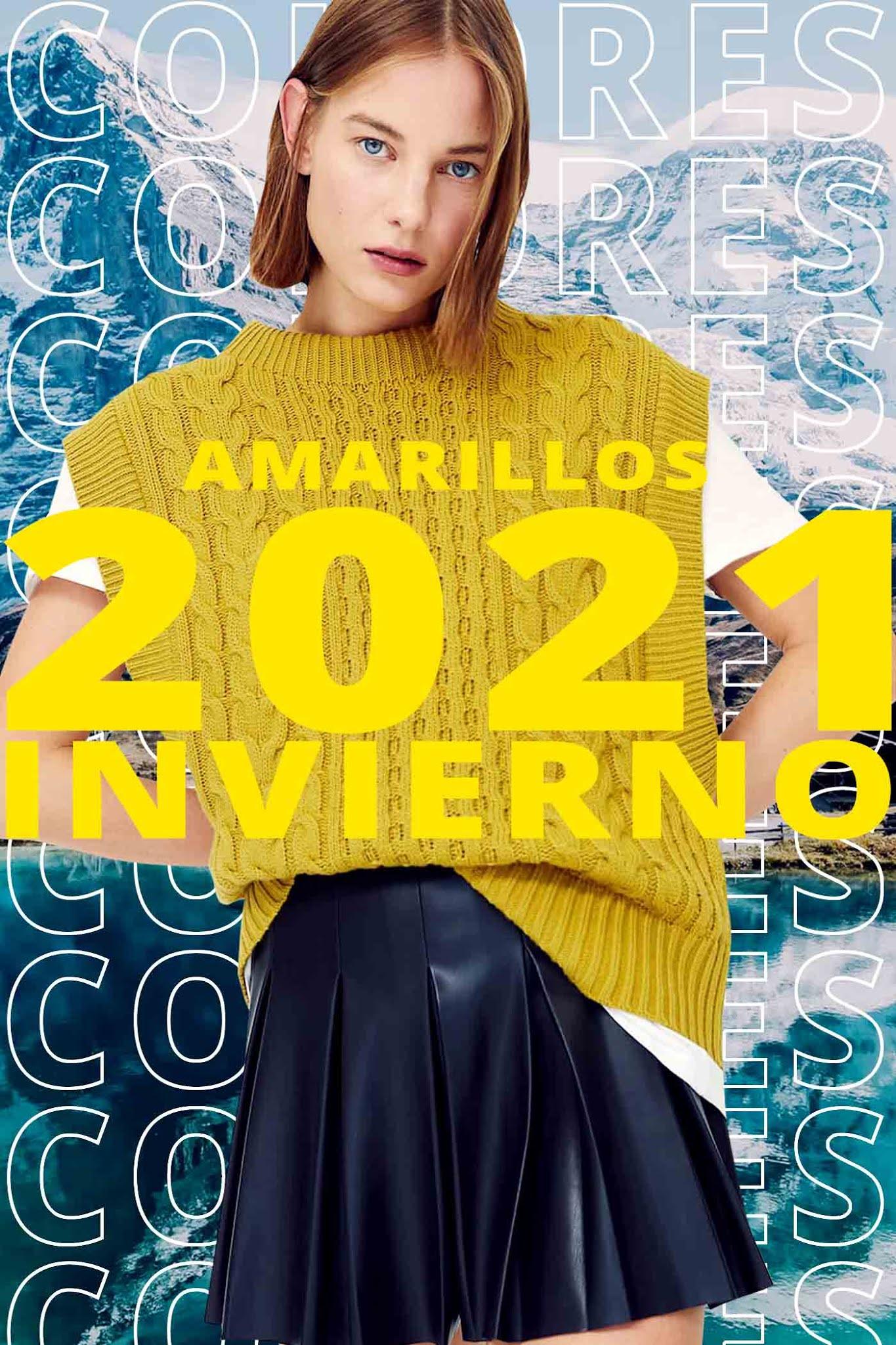 Colores de moda 2021 invierno │Amarillo
