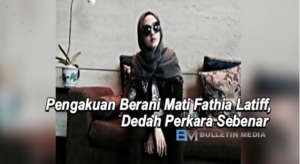 AKHIRNYA...Pengakuan Berani Mati Fathia Latiff, Dedah Pembohongan Natasha Elyzza