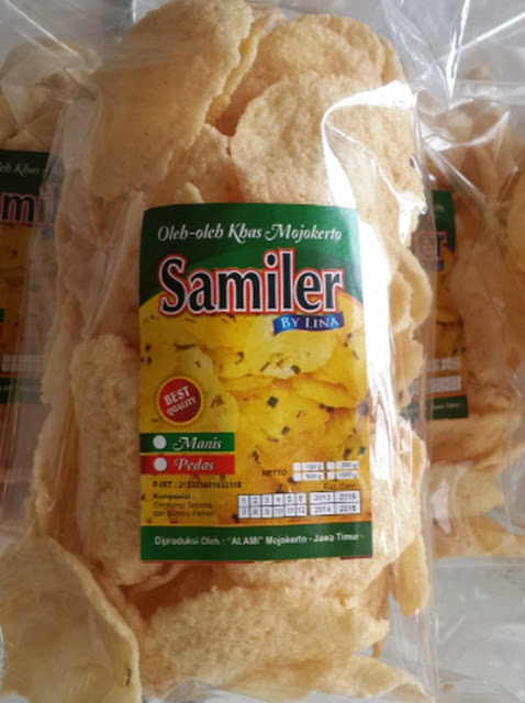 "Samiler ""Alami"", Oleh-oleh Khas Mojokerto dari Lina's Outlet Samiler"