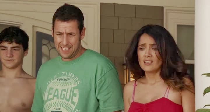 Screen Shot Of Grown Ups 2 (2013) English Movie 300MB Short Size PC Movie