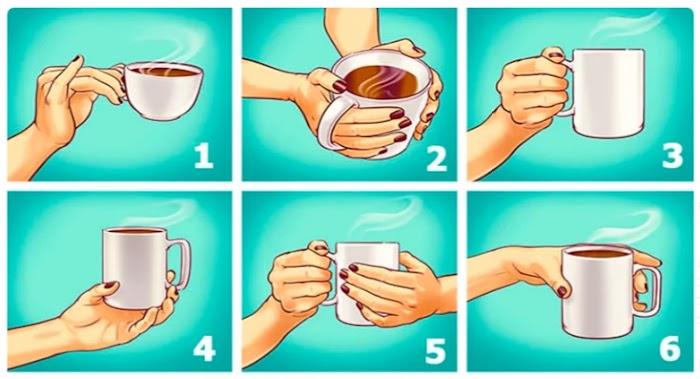 То, как Вы держите чашку, может рассказать о самых ярких чертах характера!