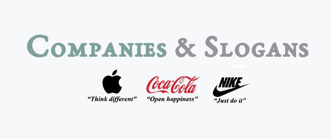 Companies & Slogans