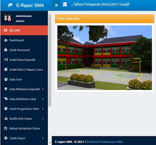 Aplikasi e-Rapor SMA 2017.1