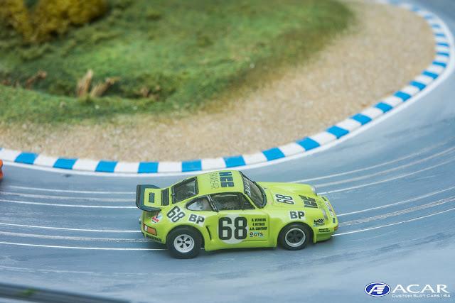 Slot Car Race Custom h0 24h Le Mans 1974