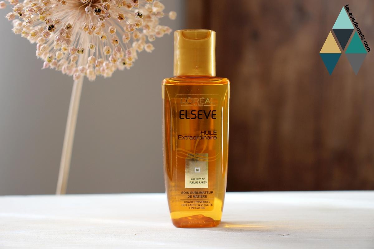 test beauté huile universelle extraordinaire cheveux