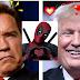 """Arnold Schwarzenegger  cutuca  Presidente  é diz """"Acho que Trump está apaixonado por mim""""."""