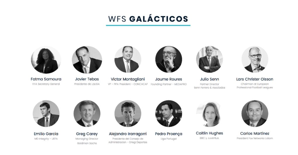 World Football Summit 2017 Galácticos