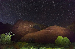 Skyline Arch, Arches National Park Night Photography