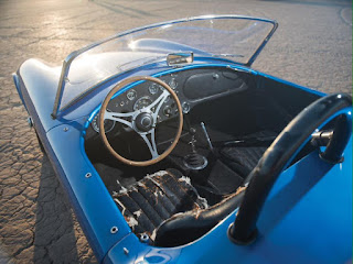 First Shelby Cobra Interior