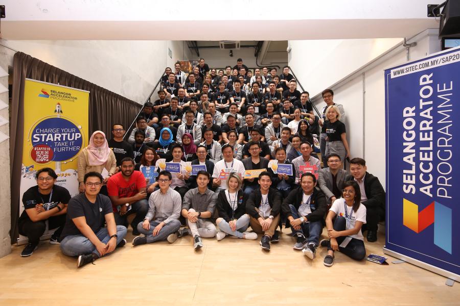 Selangor Accelerator Programme qualifying startups