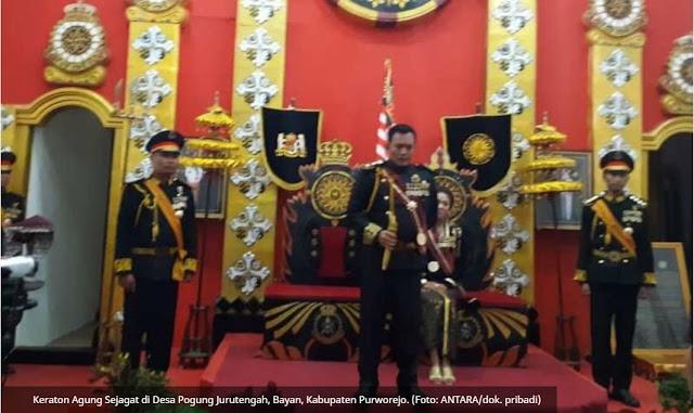 TERBONGKAR SUDAH !! Raja dan Ratu Keraton Sejagat Purworejo Ditangkap