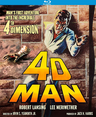 4D MAN Blu-ray cover - Released by Kino Lorber Studio Classics!