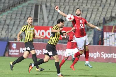 مباراة الاهلي والمقاولون العرب  kora extra